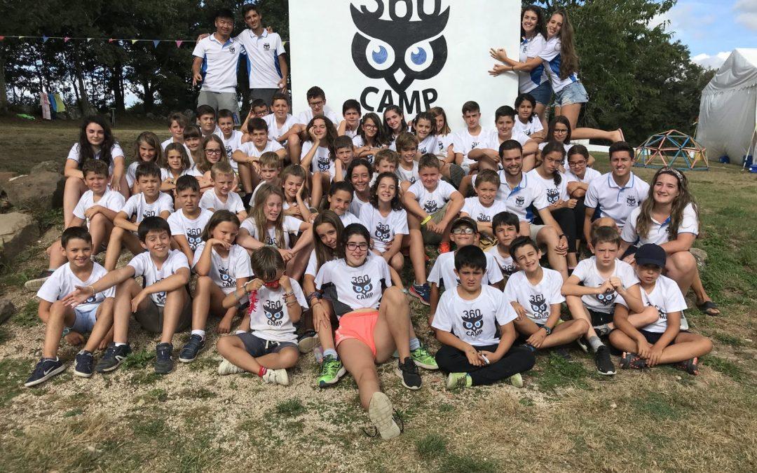 El mejor campamento de Burgos