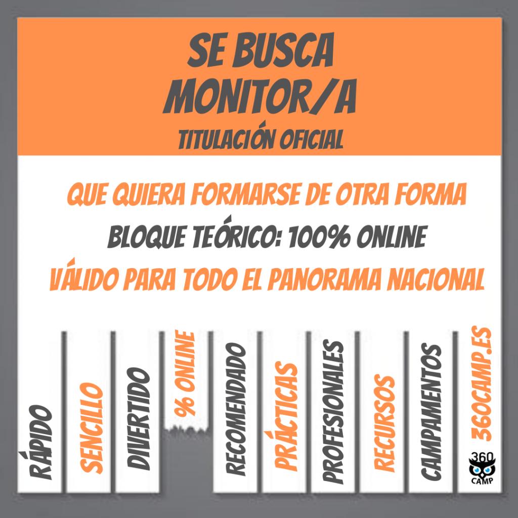 curso monitor de tiempo libre online